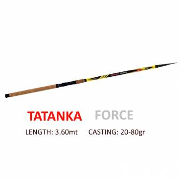 TATANKA FORCE 3,60mt Tubertini