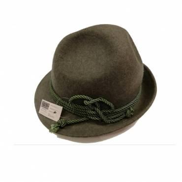 CAPPELLO TIROLESE lana verde