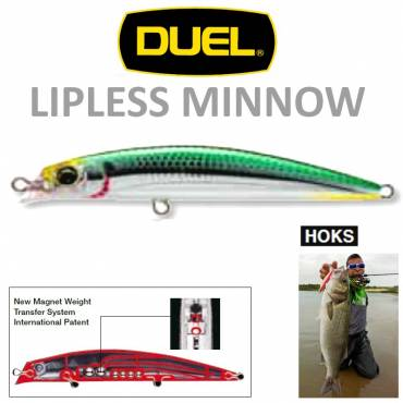 LIPLESS MINNOW 90mm Duel