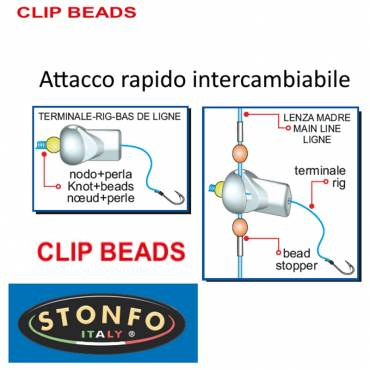 CLIPS BEADS ATTACCO Stonfo