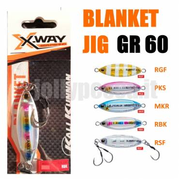 JIG BLANKET 60GR X-WAY