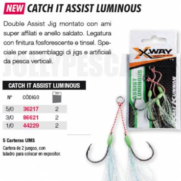 CATCH IT ASSIST LUMINOUS X-Way