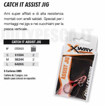 CATCH IT ASSIST JIG X-Way