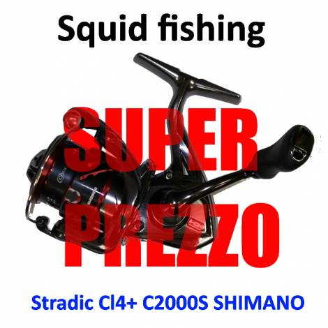 Reel for squid fishing