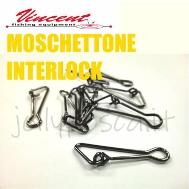 MOSCHETTONE INTERLOCK Vincent